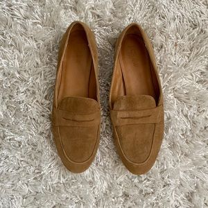 J.Crew camel loafers